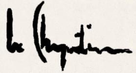 Le Charpentier artiste.